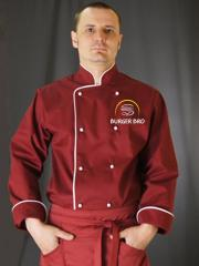 Single-breasted coat cook