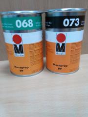 Paint for a tampopechata of Marabu Maraprop PP