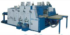 The printing and die-cutting DVL-1800 line