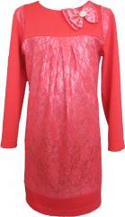 Нарядное платье для девочки. Модель 211