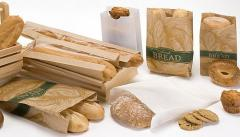 Бумажные пакеты  для фаст-фудов, хлебо-булочных,