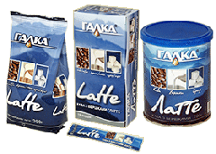 Coffee with Latte cream package of 200 g / 20