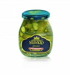 Gherkins are marinated, 720 ml