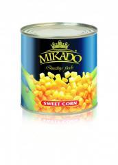 The corn is tinned, 425 ml