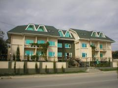 Hotel, motel and camping houses