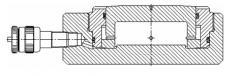 Гидроцилиндр силовой (Домкрат монтажный)