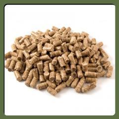 Топливные древесные пеллеты (сосна)