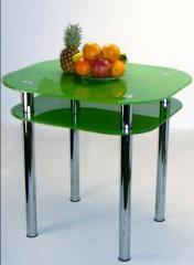 Столы обеденные стеклянные,