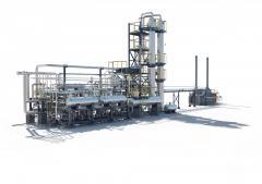 Модульный комплекс по переработке углеводород