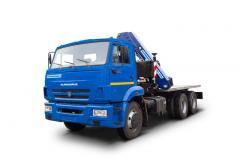 Автокран КС-55729-1В на шасі КАМАЗ-6540