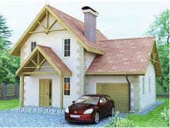 Дома каркасные жилые Проект