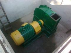 Машина рубильная МР2-20 для производства щепы