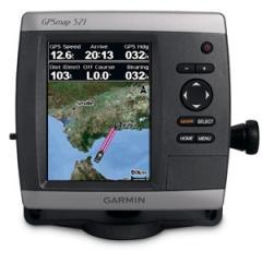Цветной GPS-приемник GPSMAP 521S