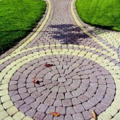 Плитка тротуарная (серая, желтая,красная,черная)
