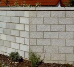 Блок строительный серый оптом от производителя