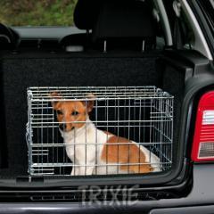 Клетка для собак оцинкованная 78×62×55 см