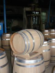 Barrel for cognac on 57 liters