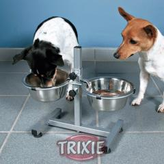 Bowls for dogs on a support 1.8l/20sm