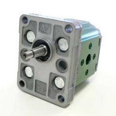 Hydraulic pumps are gear, piston, lamellar