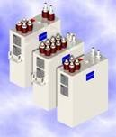 Series capacitors KLS water-cooled are