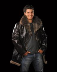 Sheepskin coats are natural female, man's,