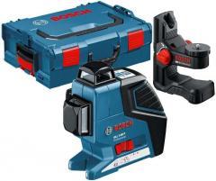 Laser level of Bosch GLL 3-80 P + universal holder