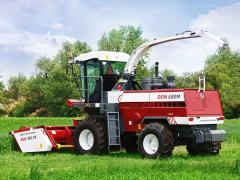 Combine fodder harvesting DON-680M