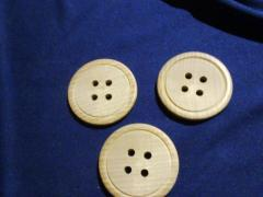 Button for decor of 60 mm