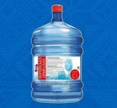 Минеральная природная питьевая умягченная вода