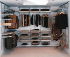 Cabinets walk-in closets