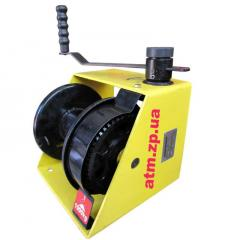 Winch of manual worm 1000 kg