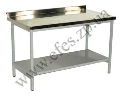 Table corrosion-proof for dining rooms, cafe,