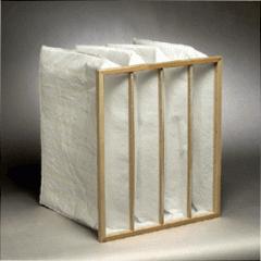 Pocket air filter 287x592x600