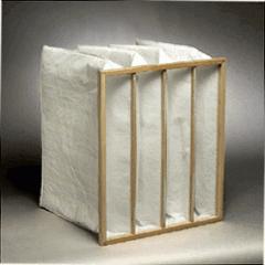 Pocket air filter of 592x592x600 8 pockets,