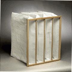 Pocket air filter 287x592x600, area 3,0