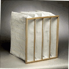 Pocket air filter 592x592x600 area 6,0 quantity of