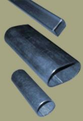 Farm 10 galvanized oval tubes