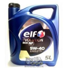 Engine oil Elf Evolution900 nf 5W-40