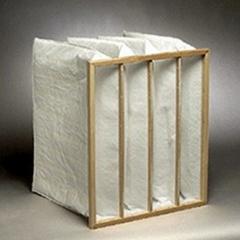 Pocket air filter 592x592x550 area 6,51