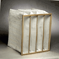 Pocket air filter 490x592x380, 6 pockets