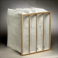 Pocket air filter 287x592x550