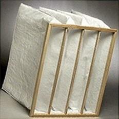 Pocket air filter of 592x592x650 10 pockets
