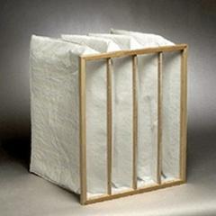 Pocket air filter of 592x592x550 10 pockets