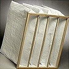 Pocket air filter of 490x592x650 6 pockets