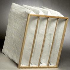 Pocket air filter of 287x592x650 5 pockets class