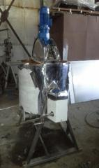 Cooking vat for custard paste of the CBB-1,25M