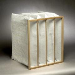 Pocket air filter constructional features