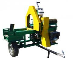 DK-350 splitter, wood splitter diesel DIESEL for
