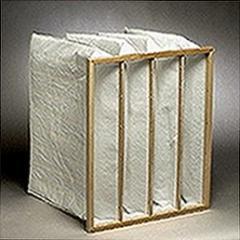 Pocket air filter 287x592x380 resistance 155