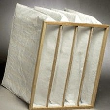 Pocket air filter 490x592x650 resistance 156